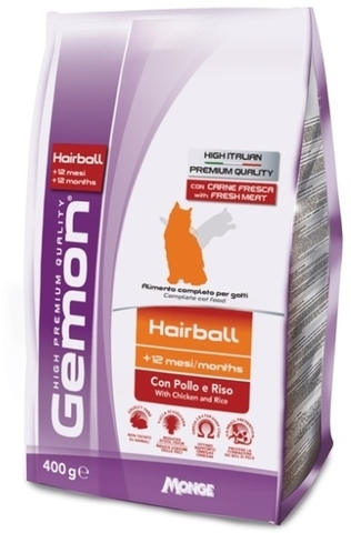 Gemon Cat Hairball Chicken & Rice