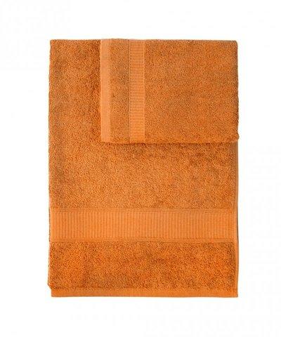 Набор полотенец 2 шт Caleffi Calypso оранжевый