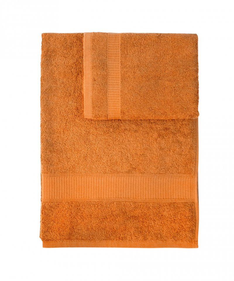 Наборы полотенец Набор полотенец 2 шт Caleffi Calypso оранжевый nabor-polotenets-2-sht-caleffi-calypso-oranzhevyy-italiya.jpg