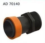 "AD 70140 Старт для ленты Туман(GS) 40 мм с наружной резьбой 1"""