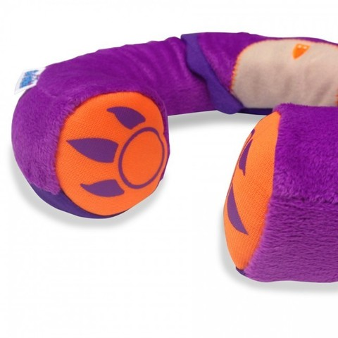 Подголовник детский Yondi Сова, фиолетовый