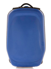 Чемодан самокат синий