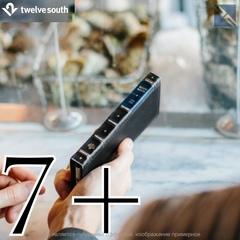 Чехол для iPhone Twelve South BookBook iPhone 8+, 7 Plus чехол-книжка кожа черный 12-1661 Black