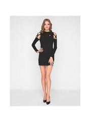GTS012372 Платье женское. черное