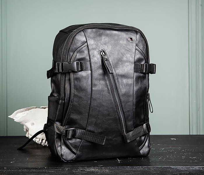 BAG483-1 Недорогой мужской городской рюкзак из кожи фото 01