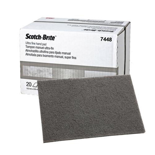 Шлифовальные листы Scotch-Brite™ 07448 ультратонкий (серый)