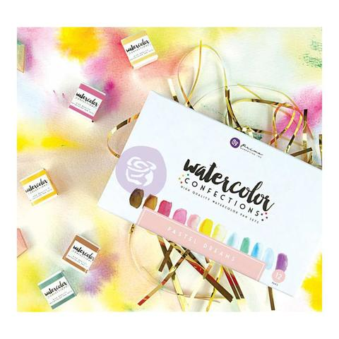 Акварельные краски Prima Marketing Watercolor Confections Watercolor Pans 12шт. -Pastel Dreams