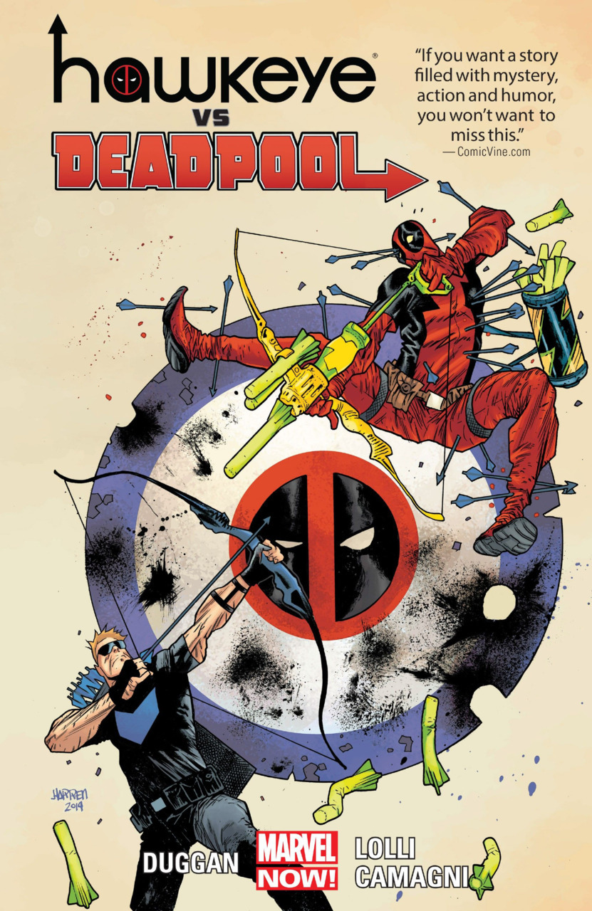 Hawkeye vs. Deadpool TPB