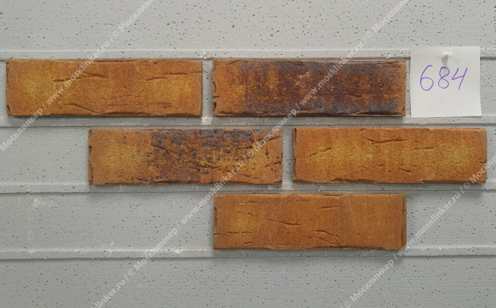 Плитка-клинкер под кирпич Feldhaus Klinker, Sintra, R684NF14, ручная формовка, nolani ocasa
