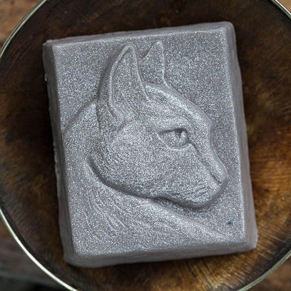 Мыло в виде головы кошки. Форма для изготовления