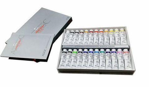 Набор акриловых красок ShinHanart ACRYLIC COLOR PRO 20мл 24 цвета