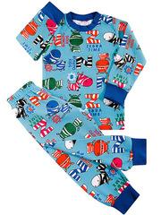 BK921PJ-3 пижама для мальчиков, голубая