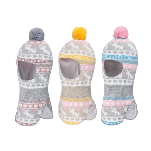 Зимняя шапка-шлем для девочки Satila Bonny