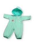 Комбинезон - Бирюзовый. Одежда для кукол, пупсов и мягких игрушек.