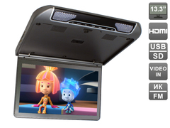 Автомобильный потолочный монитор  AVIS Electronics AVS440MPP (тёмно-серый)