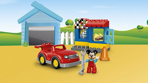 LEGO Duplo: Мастерская Микки 10829 — Mickey's Workshop — Лего Дупло