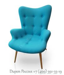 Кресло DUPEN 917 Голубое