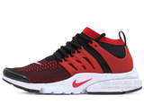Кроссовки Мужские Nike Air Presto Ultra Flyknit Red Black White