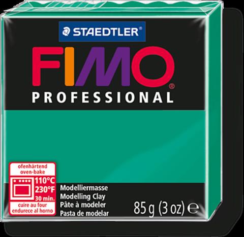 Fimo Professional цвет чисто-зеленый