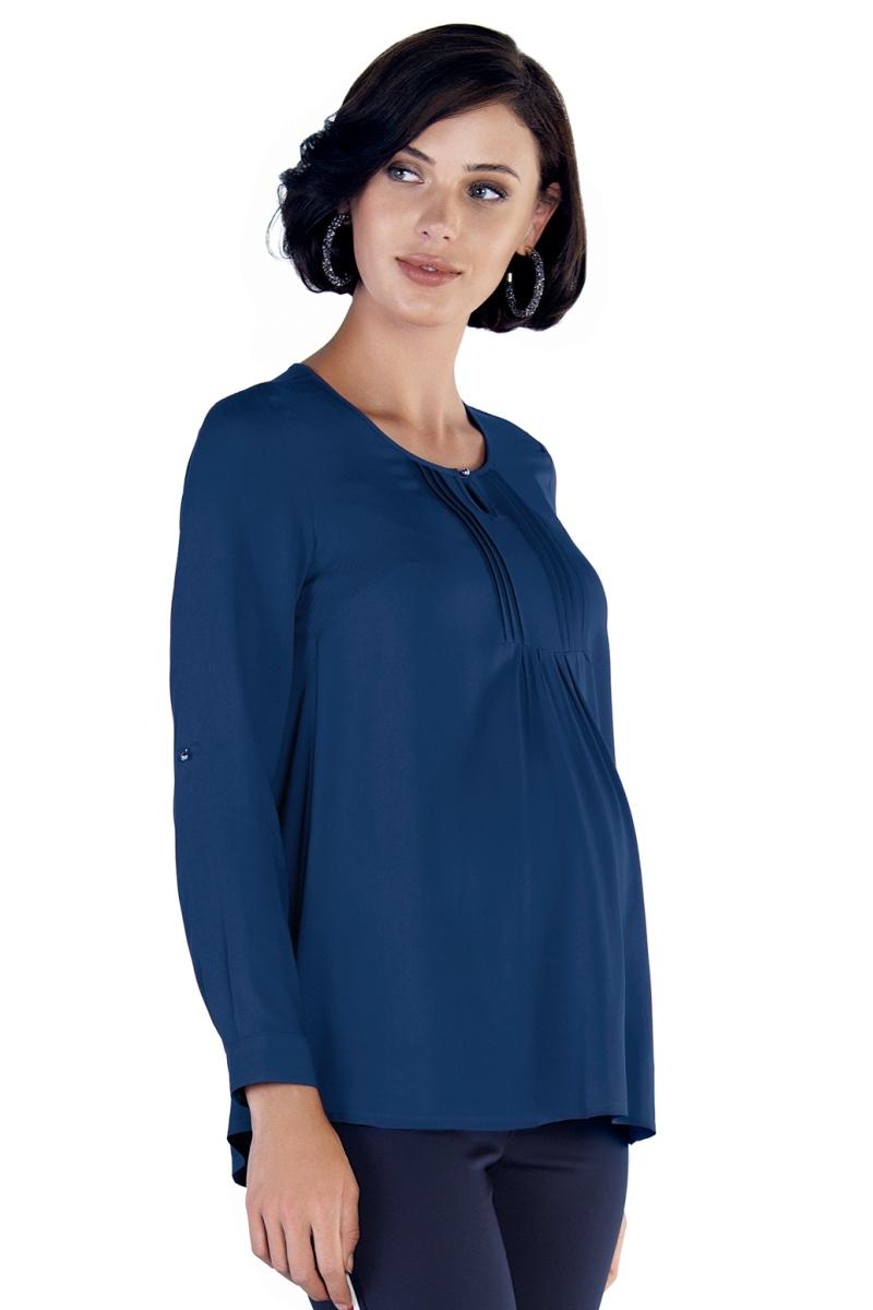 Блузка 09786 синий