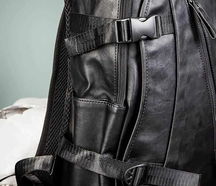 BAG483-1 Недорогой мужской городской рюкзак из кожи фото 03