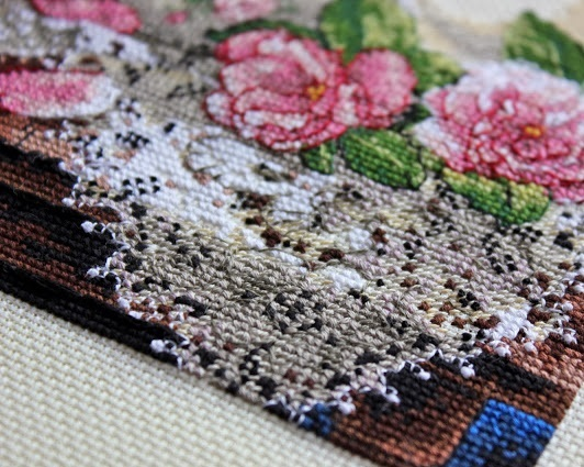 Набор для вышивания. Lace and Roses. Кружева и розы. Артикул 6929