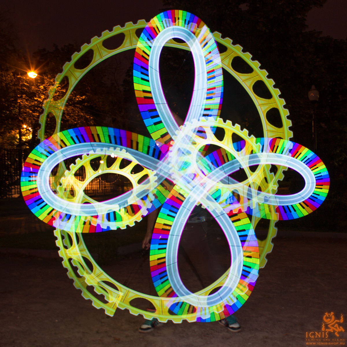 LED digital poi Ignis Pixel 80 HD