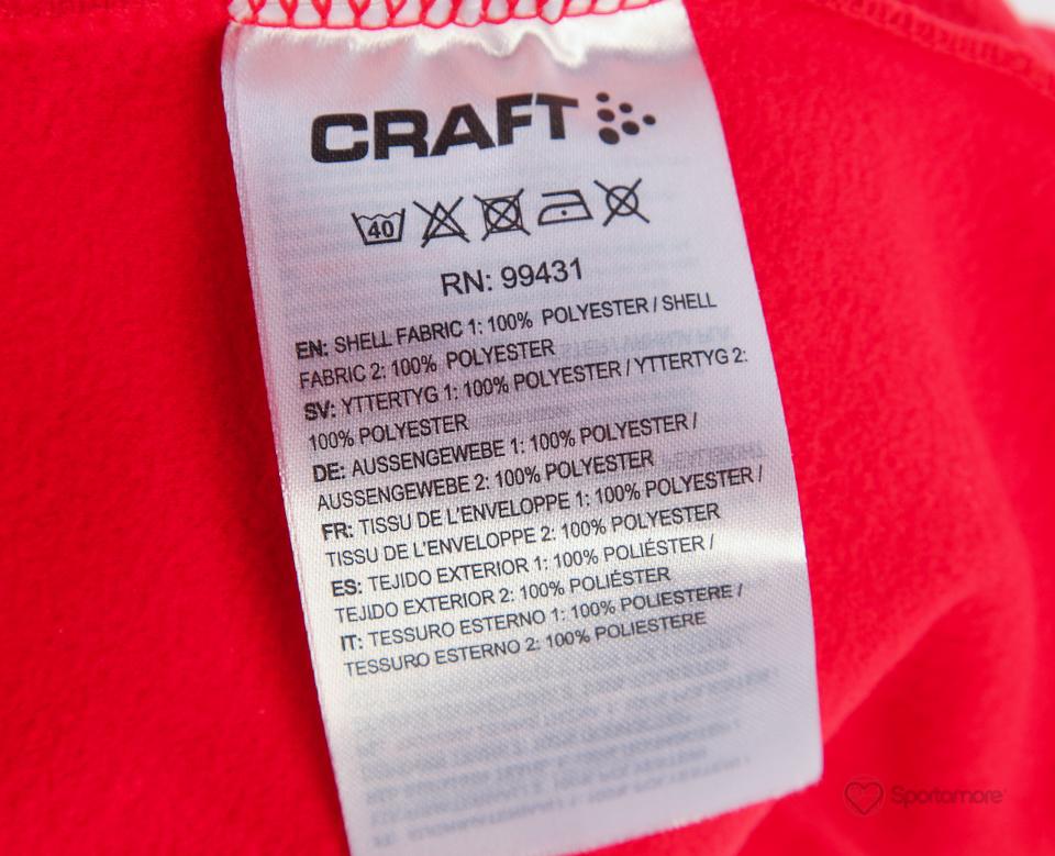 Женская лыжная куртка крафт Storm (194663-1430) красная фото
