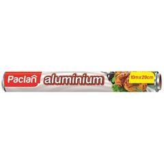 Фольга пищевая алюминевая (рулон 10м х 30см) PACLAN