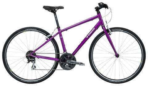 Trek 7.2 FX WSD (2015)фиолетовый с белым