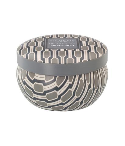 Свеча ароматическая в алюминиевой банке Чай с бергамотом и ветивером, Wax Lyrical