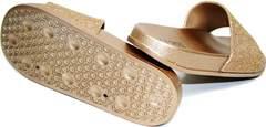 Биркенштоки женские J.B.P. Shoes NU25 Gold.