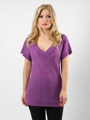 1981-1 кофта женская пурпурная