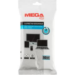 Салфетки ProMega Office влажные для экранов и мониторов всех типов,50шт.