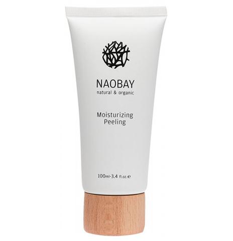 Увлажняющий скраб-пилинг для лица, Naobay