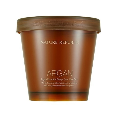 Средство для волос NATURE REPUBLIC Argan Essential Deep Care Hair Pack 470ml