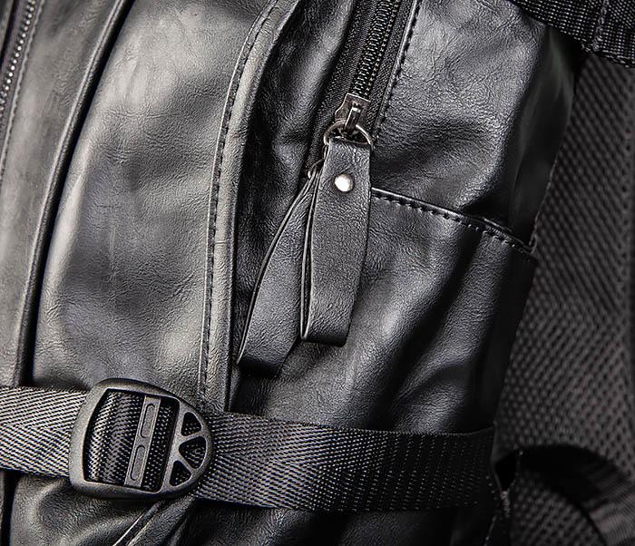 BAG483-1 Недорогой мужской городской рюкзак из кожи фото 06