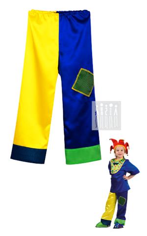Фото Брюки 2 - цветные рисунок Цирковые костюмы для детей и взрослых от Мастерской Ангел. Вы можете купить готовый или заказать костюм для цирка по индивидуальному дизайну.