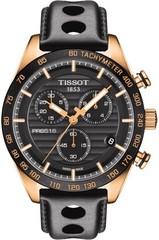 Мужские швейцарские наручные часы Tissot T-Sport PRS 516 T100.417.36.051.00