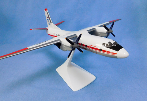 Модель самолета Ан-26 (М1:72, ЧукотАвиа)
