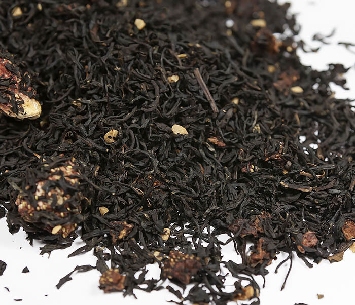 TEA-AR114 Черный ароматизированный чай «Земляника со Сливками» (50 гр) фото 01