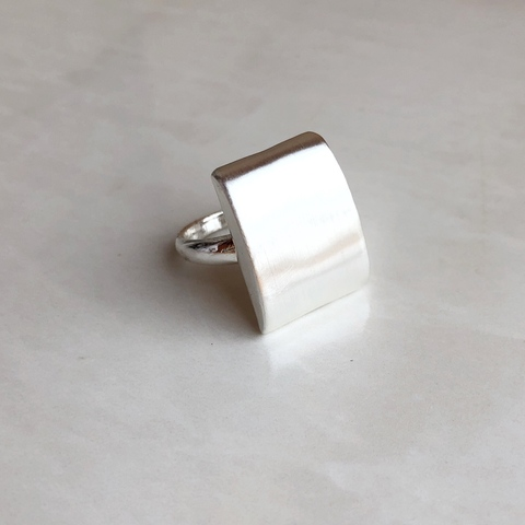 Кольцо Анвил, серебряный цвет