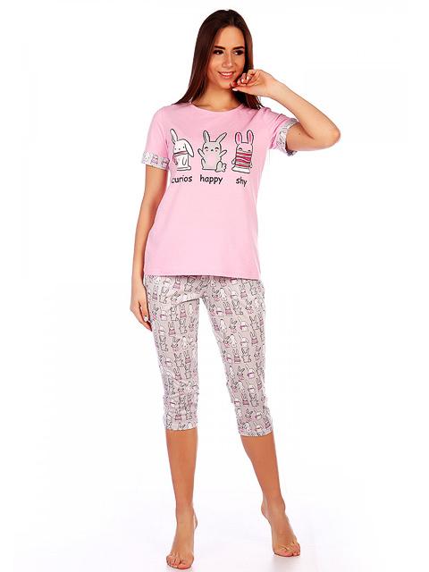 1292Б костюм женский, розовый