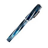 Visconti DIVINA Elegance Over синяя смола, вставки 925 (VS-264-18)