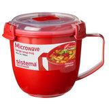 Кружка суповая Microwave 900 мл, артикул 1141, производитель - Sistema