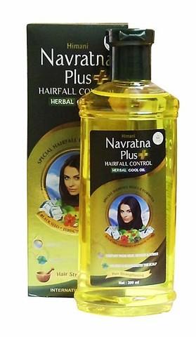 Масло охлаждающее Navratna от выпадения волос, 200 мл, Himani (Индия)