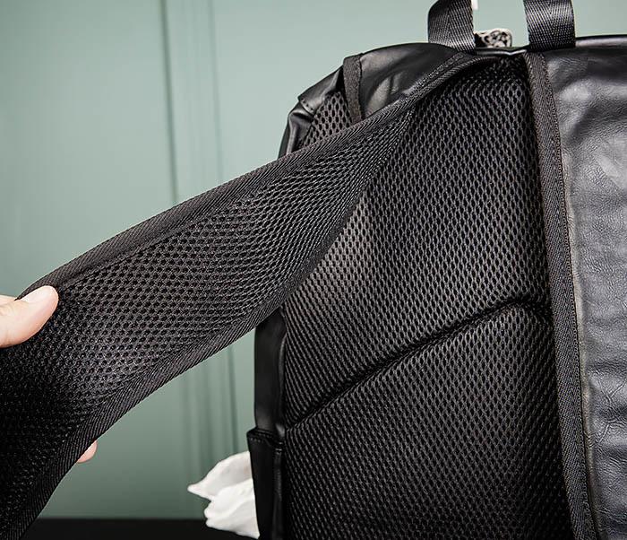 BAG483-1 Недорогой мужской городской рюкзак из кожи фото 08