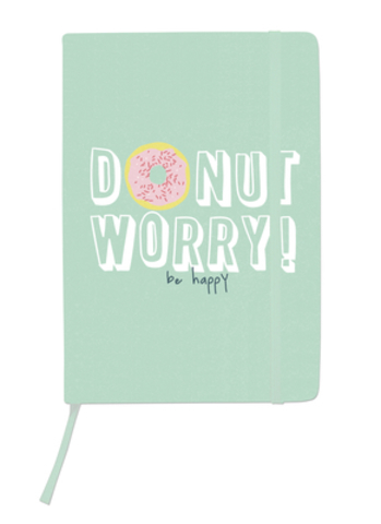Блокнот  14,3 х21см Kaiser Style A5 Journal - Donut Worry