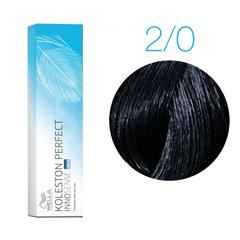 Wella Professionals Koleston Perfect Innosense 2/0 (Черный) - Стойкая крем-краска для волос