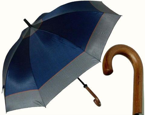 Купить онлайн Зонт-трость Perletti Time 25933-blue Golf blue scuro в магазине Зонтофф.